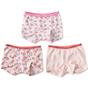 shorts meisjes 3-pack - pink combi