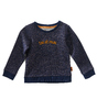 meisjes sweater - blue copper sparkle TOI