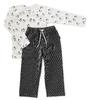 pyjama set jongens - black stripe