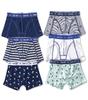 boxershorts 6-pack - blue & white