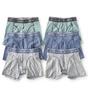 boxershorts 6-pack - groen blauw grijs