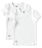 meisjes t-shirts 2-pack - white