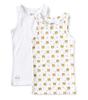 hemden jongens 2-pack - white tiger combi