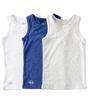 hemden jongens 3-pack - blue combi