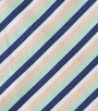 diagonal stripes in pink blue white - Little Label