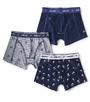 boxers shorts boys 3-piece blue Little Label