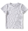 t-shirt korte mouw jongens - gestreept - Little Label