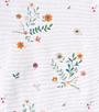 flower white print - Little Label