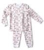 baby pyjama - tiger red - Little Label