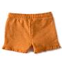 fancy meisjes sweatshorts -orange- Little Label