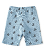 achterkant baby shorts met allover turtle print Little Label