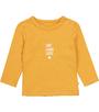 'love laugh lucky' baby t-shirt Little Label organic cotton