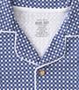 checkered blue print - Little Label