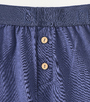 blauwe lange pyjamabroek Little Label